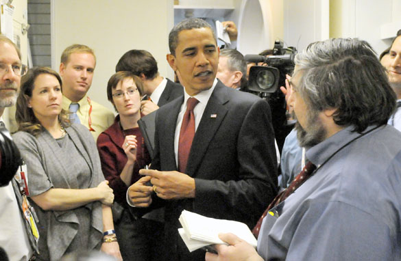President Obama and the media