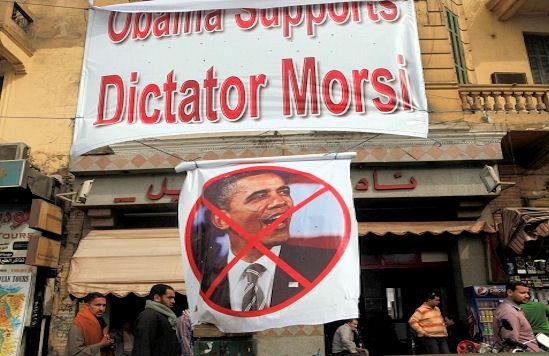 obama morsi protest